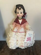 "Madame Alexander CARMEN #1410 Collectible 14"" Doll / Opera Series"