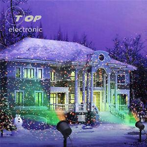 Christmas Star Projector Laser Light LED Moving Outdoor Landscape RGB Lamp