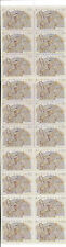 1991 20x38c Christmas Self Adhesive Stamp Booklet:Muh