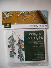 Jewellery Making Kit - Earring Kit - Gold