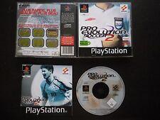 PRO EVOLUTION SOCCER 2 : JEU PLAYSTATION PS1 PS2 (football PES 2 complet, suivi)
