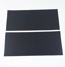 2X Silverado Carbon Fiber Universal Chevy Bowtie Vinyl Sheets Emblem Overlay