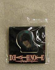 Death Note spilla in metallo smaltato - metal pin badge - LIGHT YAGAMI - RARE