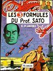 BD E.P. JACOBS 1982 Lombard Blake et Mortimer Les 3 formules du Prof. Sato