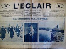 WW1 MEMORIAL DE LA GUERRE SALONIQUE ARMEE GRECQUE FRONT JOURNAL L'ECLAIR 12/1915