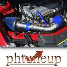 BLUE 2008-2012 CHEVROLET MALIBU 2.4 2.4L LS LT LTZ RAM AIR INTAKE KIT + FILTER