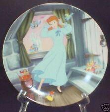 1989 Knowles Disney's Cinderella Plate W/Cert Orig Box