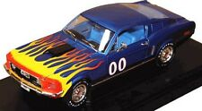 Die Cast TV Show The Dukes of Hazzard 1:18 Cooter's Ford Mustang Blue Model Car