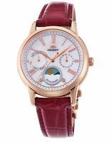 New! ORIENT Classical SUN & MOON Quartz RN-KA0001A Women's Watch from Japan!