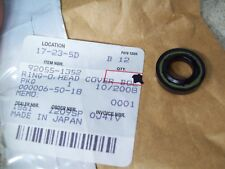 NOS OEM Kawasaki Head Cover Bolt O-Ring 1987-2000 VN800-A5L ZX600-E8L 92055-1352
