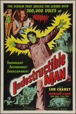 Indestructible Man Movie Poster 24in x 36in