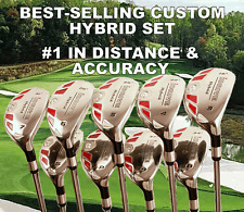 ALL SAME LENGTH TAYLOR FIT MADE HYBRID IRON WOODS PGA 3 4 5 6 7 8 9 P S GOLF SET