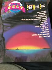 The New Best of the Steve Miller Band Songbook Sheet Music Song Book P/V/G/