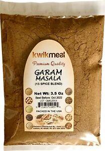 KWIKMEAL GARAM MASALA 3.5 OZ PACK.  - FREE SHIPPING. $7.04