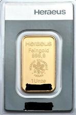 Goldbarren 1 Feinunze 1 oz