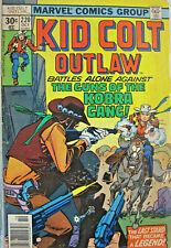 Kid Colt Outlaw Marvel Comic Bronze Age #220 1973 VG+ Western Kobra Gang