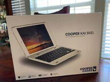 Cooper Kai SKEL [Bluetooth Wireless Keyboard] Case for iPad 4, iPad 3, iPad 2