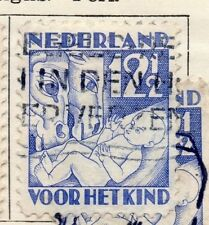 Holland 1930 Early Issue Fine Used 12.5c. 234376