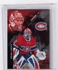 2017-18 Upper Deck SPX Card # 7 Carey Price Montreal Canadiens 214/299