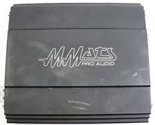 MMATS Pro Audio Model M2000.1d Black color Car Amplifier