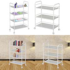 3/4Tier Large MINI Beauty Salon Trolley Cart Shelf Shelves Bookshelf Storage UK