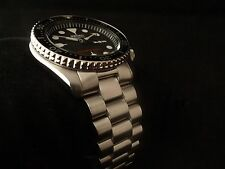 Stainless PRESIDENT Bracelet SEIKO SKX007 SKX009 Diver Watch w/ Solid End Links