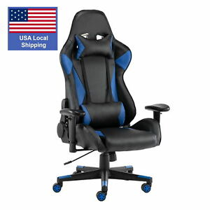 Gaming Chair Racing Computer Desk Office Chair High Back Game Chair Seat Heigh