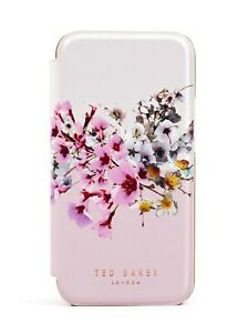 Ted Baker Mirror Luxury Floral Case for iPhone 12 - Jasmine