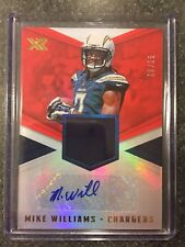2017 Panini XR Rookie Swatch Autograph Red Mike Williams #'d 10/15!