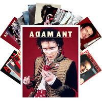 Postcards Pack [24 cards] Adam and the Ants Rock Music Vintage Posters CC1240