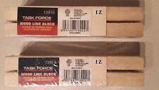 Lot Of 2 Task Force Wood Line Block Sets Item 12910