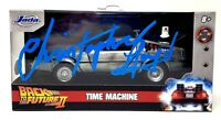 "CHRISTOPHER LLOYD Signed ""BACK TO THE FUTURE 2"" 1:32 DeLorean  BAS # WC77812"