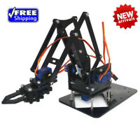 Kids DIY Robot Arm Claw Arduino Kit Mechanical Grab Manipulator Assembled toys