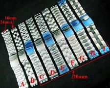 Stainless Steel Metal Band Strap Bracelet For All SWATCH Watch 17mm 19mm 23mm