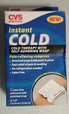 2 CVS Instant Cold Therapy with Wrap 6X9