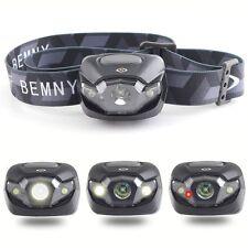 Bright LED AAA batteries Portable Adjustable Headlamp Floodlight Outdoor Sports