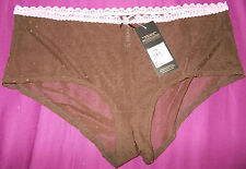 Gorgeous Debenhams Size 14 (Large) Women's Underwear/Panties/Briefs (Chocolate)