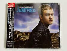 JUSTIN TIMBERLAKE Justified BVCQ-27056 JAPAN CD w/OBI 01965
