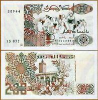 Algeria Argelia 200 Dinars 1992 (1996) Pick 138 NEW-UNC