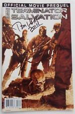 Signed Ediitor Tom Waltz  Terminator Salvation  Official Movie Prequel 1st Print