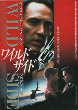 Wild Side 1995 Christopher Walken Japanese Chirashi Flyer Movie Poster B5