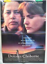 "Kathy Bates Jennifer Jason Leigh Poster Movie Dolores Claiborne Folded 40""x27"""