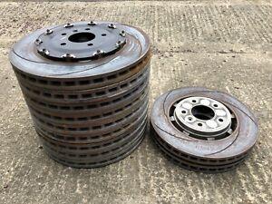 Aston Martin DB11 front/rear brake discs job lot rotor bell HY53-1125-AB Brembo