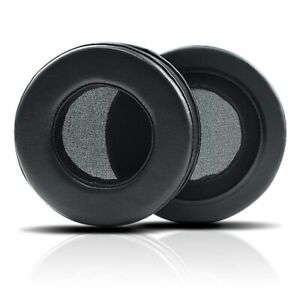 2 x Genuine Leather Ear pads cushion cover for Pioneer HDJ-2000 Headphones 90mm