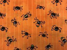 Cuarto Gordo Halloween FQ tela Calabazas Fantasmas Murciélagos 100/% Algodón Acolchado