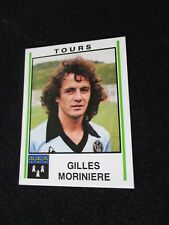MORINIERE  FC TOURS  image sticker N° 310  FOOTBALL 81 PANINI 1981