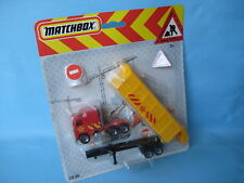 Matchbox Convoy Kenworth Tipper Construction Red Blister Packed CS-60 165mm