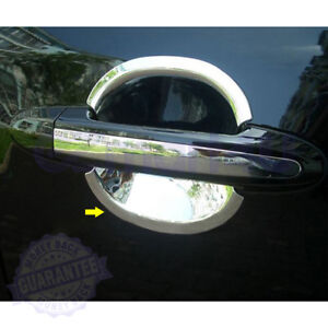 For 2006 2007 2008 2009 2010 2011 2012 Hyundai Santa Fe Chrome Door Handle Bowls