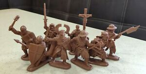 Plastic Toy Soldiers Crusades. Teutonic Knights NEW!!! 1/32 54 mm