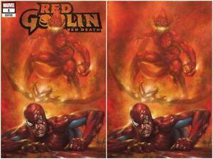 Red Goblin Red Death #1 Lucio Parrillo Virgin Variant Exclusive Set LE  Scorpion